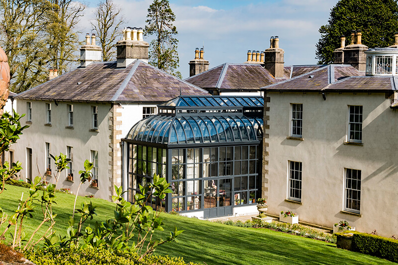 Grand conservatory with curved roof | Marston & Langinger